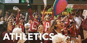 Athletics Menu Feature