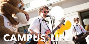 Campus Life Menu Feature