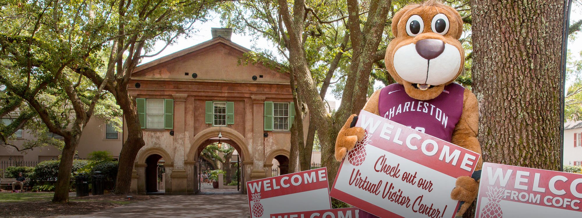 Take the College of Charleston virtual tour